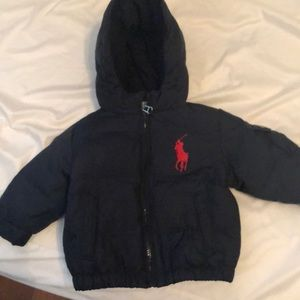 Polo Ralph Lauren winter jacket 12 months